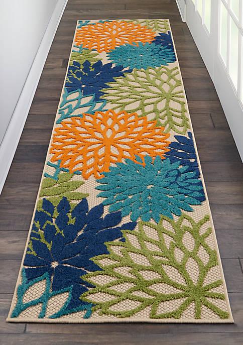 Nourison Aloha 2.3 ft x 10 ft Rug