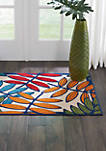 Aloha 2 ft 8 in x 4 ft Area Rug