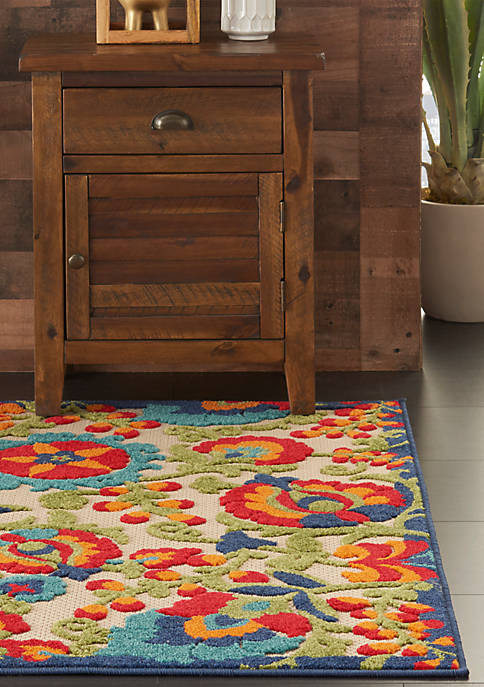 2 ft 8 in x 4 ft Aloha Area Rug