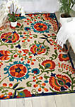 Aloha 5 ft 3 in x 7 ft 5 in Area Rug