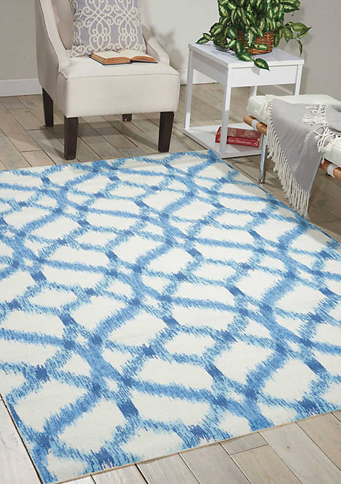 Sun & Shade 6.6 ft Square Rug