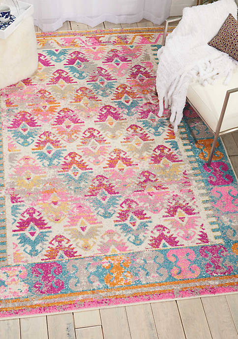 6 ft 7 in x 9 ft 6 in Passion Area Rug