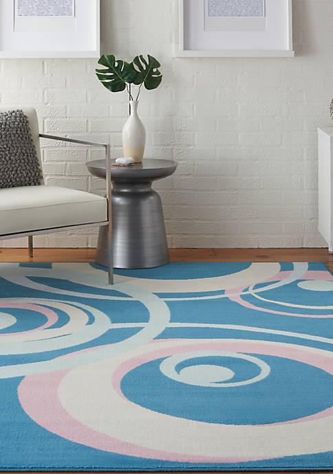 Nourison Grafix 6 ft x 9 ft Rug