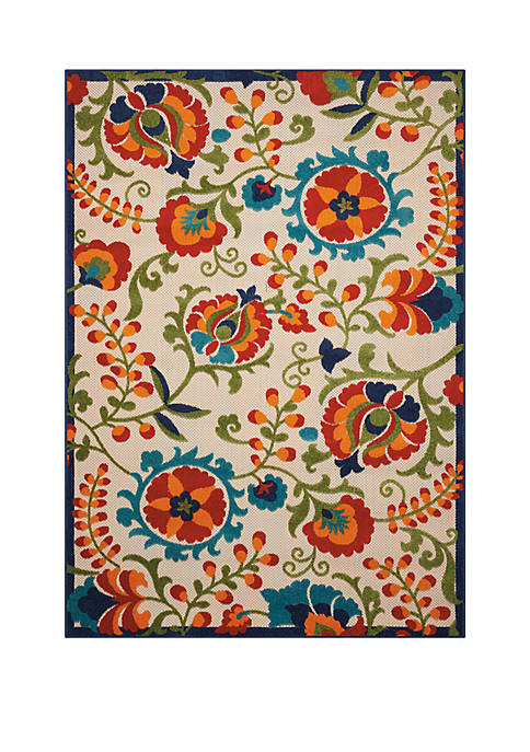 Aloha 7 ft 10 in x 10 ft 6 in Area Rug