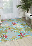 7 ft 9 in x 10 ft 10 in Sun and Shade Area Rug