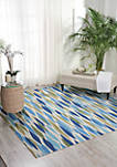 8 ft 6 in x 8 ft 6 in Sun and Shade Area Rug