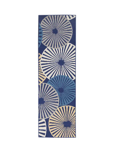 Nourison Grafix 2.3 ft x 7.6 ft Rug
