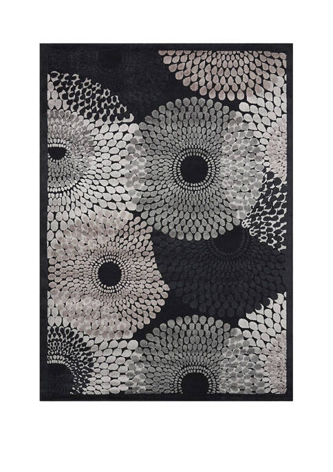Nourison Graphic Illusions 3.6 Foot x 5.6 Foot