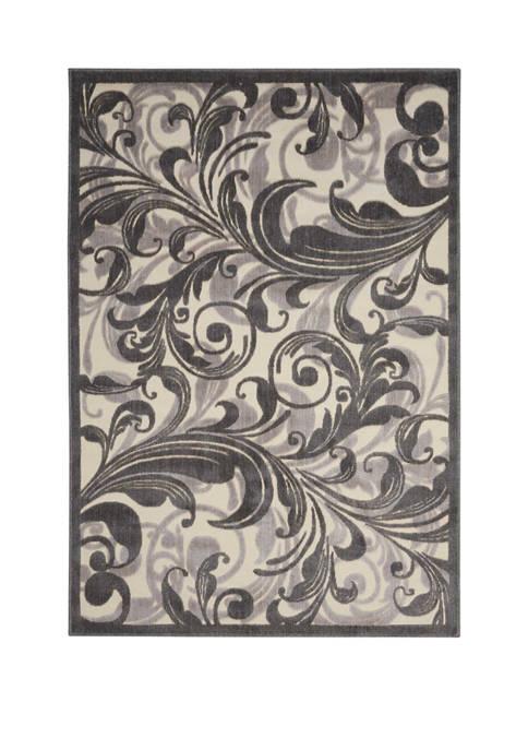 Nourison Graphic Illusions 5.3 ft x 7.5 ft