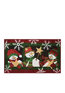 Snowmen Accent Rug