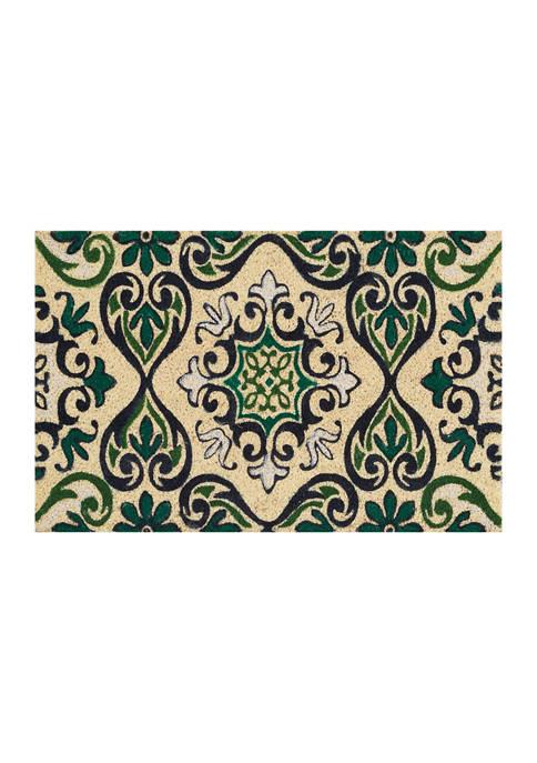 Kathy Ireland Casabella Coir Doormat