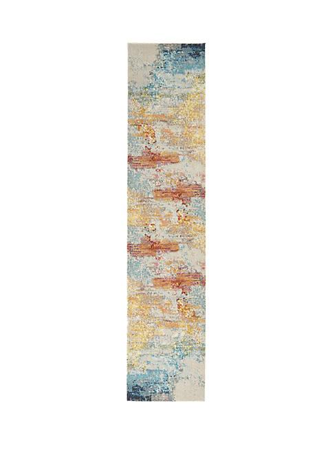 Nourison Celestial 2 ft 2 in x 10