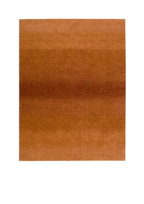 Nourison Linear Glow Cumin Area Rug 6 x