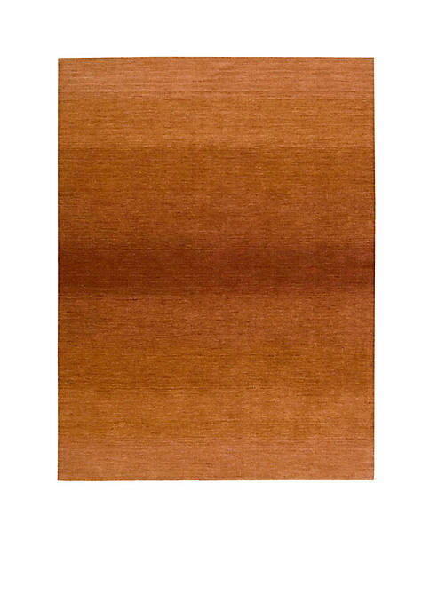 "Linear Glow Cumin Area Rug 75"" x 53"""
