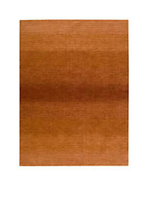 Linear Glow Cumin Area Rug - Online Only