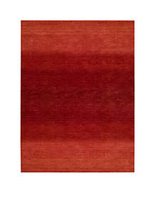 Linear Glow Sumac Area Rug - Online Only