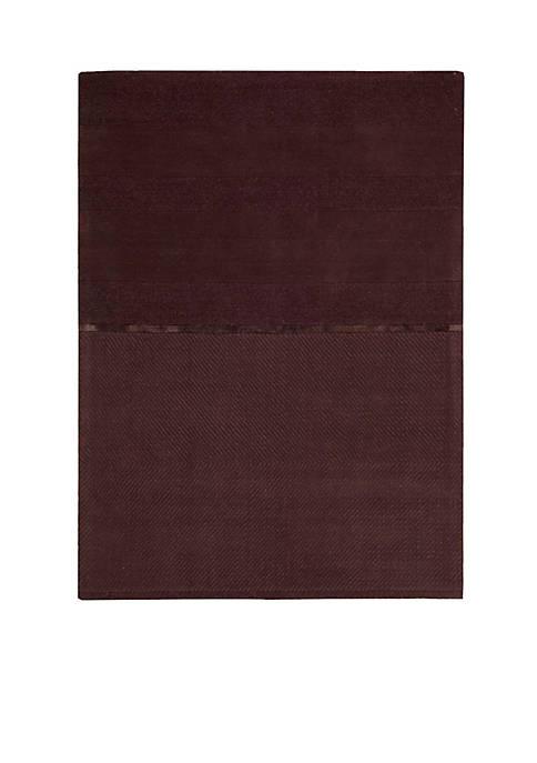 Vale Portland Burgundy Area Rug 6 x 4