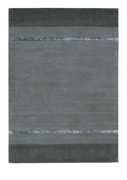 "Vale Tacoma Graphite Area Rug 76"" x 23"""