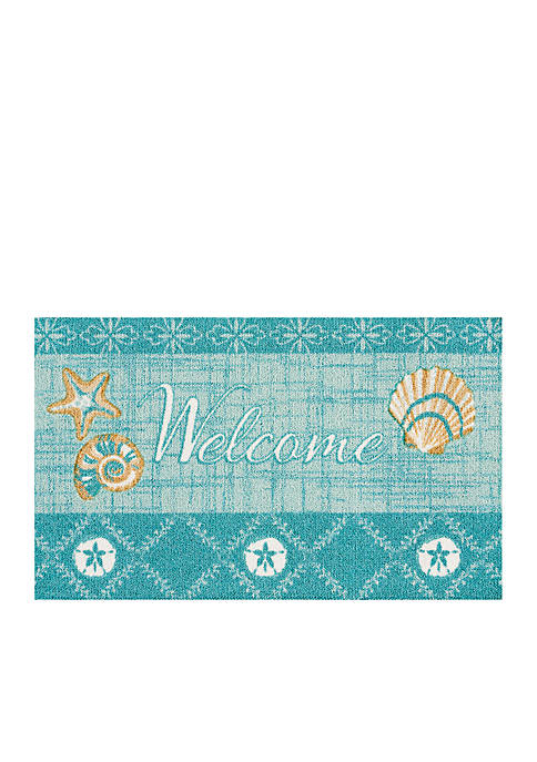 Nourison Welcome Mat with Shells
