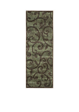"Expressions Vines Brown Area Rug 59"" x 2"