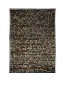 Expressions Vines Multicolor Area Rug - Online Only