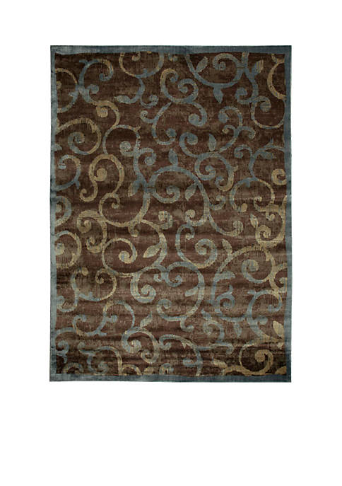 Expressions Vines Multicolor Area Rug