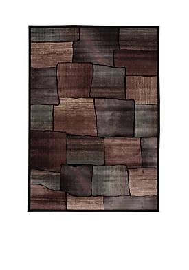 """Expressions Brick Multicolor Area Rug 29"""" x 2"""