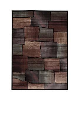 """Expressions Brick Multicolor Area Rug 8 x 23"""""""