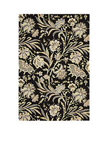 Gatsby Black Area Rug - Online Only