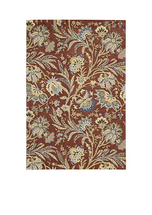 "Gatsby Multi-Colored Area Rug 106"" x 8"