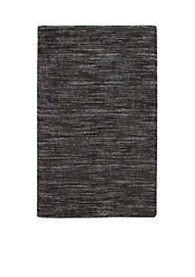 Nourison Grand Suite Ottoman Charcoal Area Rugs - Online Only