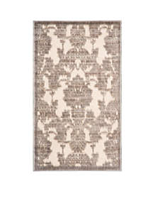 Graphic Illusions Ivory/Latte Area Rug - Online Only