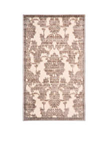 Graphic Illusions Ivory/Latte Area Rug 7'5\
