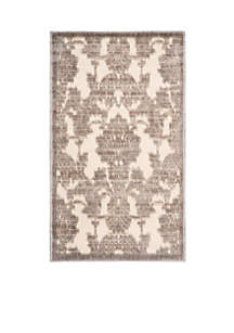 Graphic Illusions Ivory/Latte Area Rug 10'10\