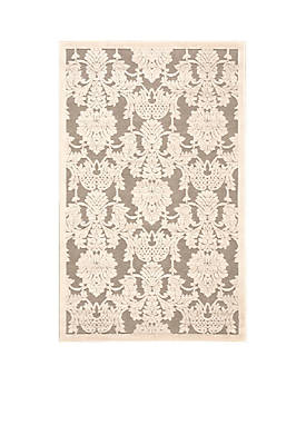 """Graphic Illusions Nickle Area Rug 38"""" x 23"""""""