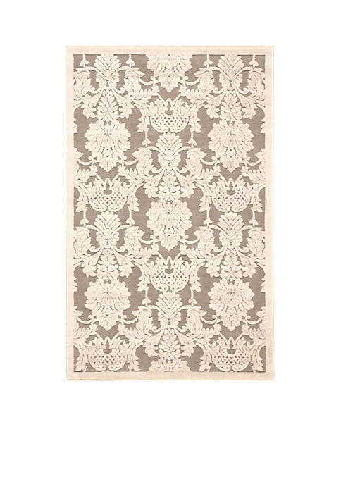 "Nourison Graphic Illusions Nickle Area Rug 38"" x"
