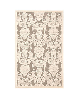 """Graphic Illusions Nickle Area Rug 76"""" x 23"""""""