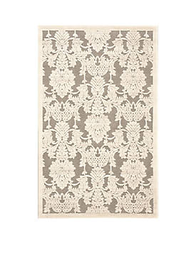 """Graphic Illusions Nickle Area Rug 75"""" x 53"""""""