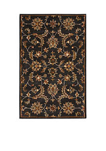 Nourison India House Charcoal Area Rug - Online Only