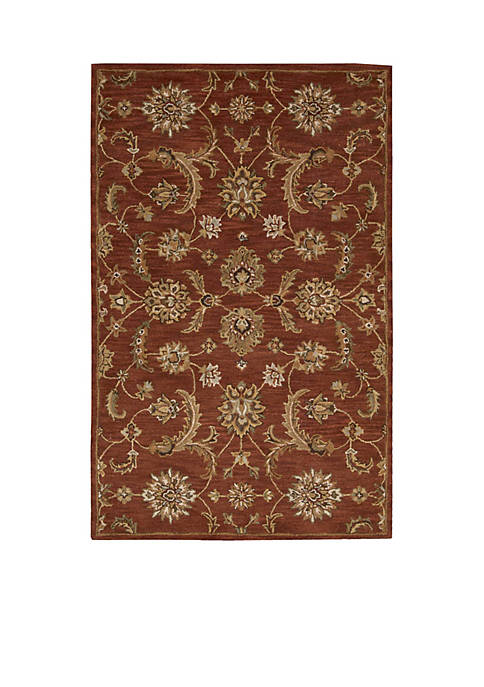 India House Brick Area Rug 4¿ x 2¿6¿