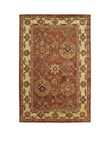 Jaipur Rust Area Rug - Online Only