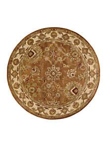 Jaipur Rust Area Rug 8'
