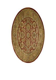 Jaipur Burgundy Area Rug - Online Only