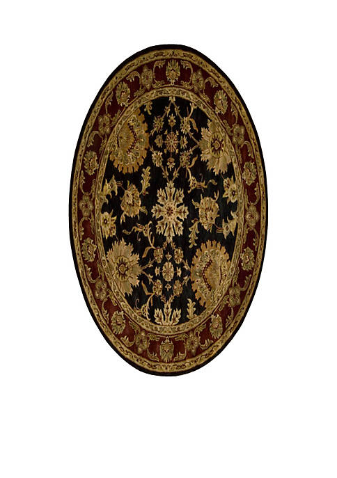 Jaipur Black Area Rug 6