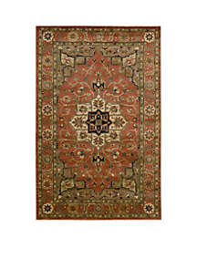 Jaipur Geometric Brick Area Rug - Online Only