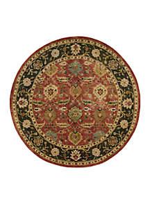 Nourison Jaipur Floral Brick Area Rug 8'