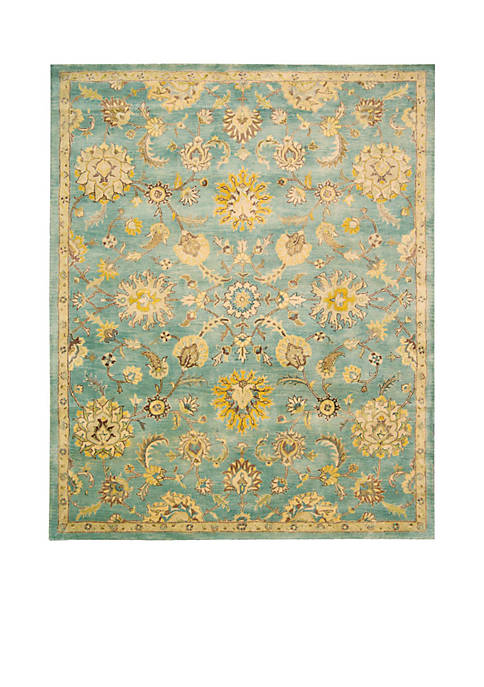 "Jaipur Light Blue Area Rug 86"" x 56"""