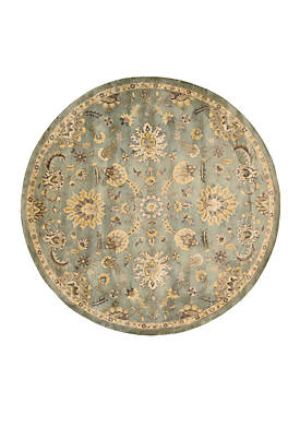 Jaipur Light Blue Area Rug 8 Round