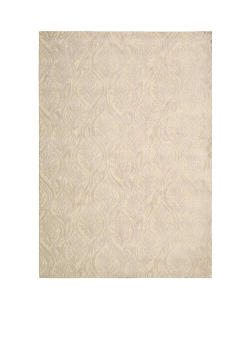 Hollywood Shim Paradise Cove Bisque Area Rug 76""