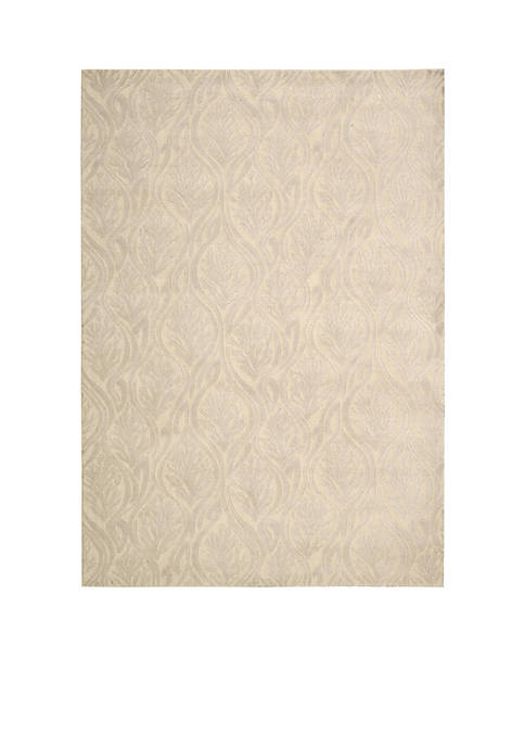 Hollywood Shim Paradise Cove Bisque Area Rug 59""